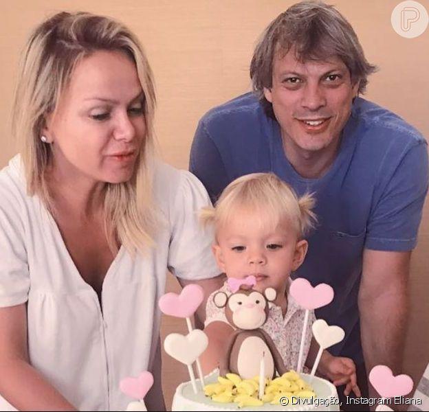 Eliana comemorou com festa o aniversário de 2 anos de sua filha caçula, Manuela, neste sábado, 14 de setembro de 2019, em SP