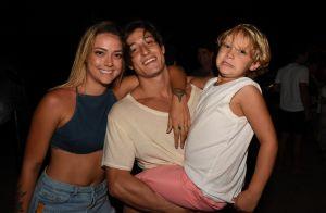 Marido de Carol Dantas faz selfie do filho e fãs dividem opinião: 'Olhos da mãe'
