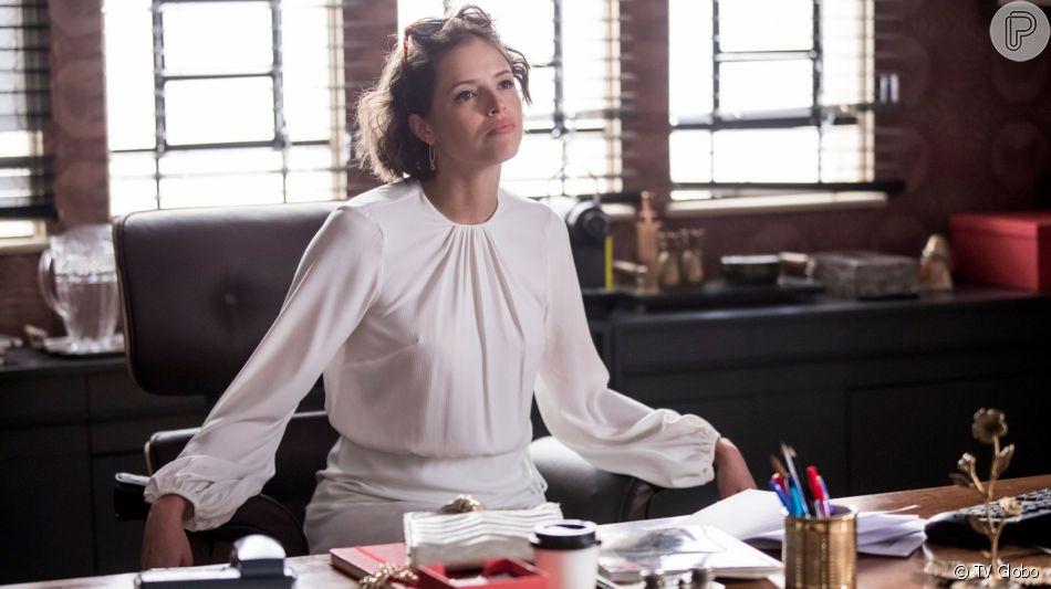 Josiane (Agatha Moreira) fingirá de boa moça para poder dar golpe na novela 'A Dona do Pedaço'