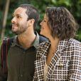 Maria da Paz (Juliana Paes) e Téo (Rainer Cadete) vão começar a acreditar na bondade de Josiane (Agatha Moreira) na novela 'A Dona do Pedaço'