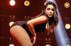 Anitta rebola ao som de funk em banheiro de hotel e vídeo impressiona seguidores
