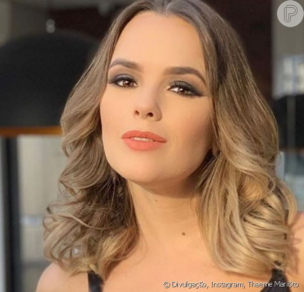 Thaeme Mariôto faz transformação no cabelo em vídeo nesta segunda-feira, dia 30 de setembro de 2019