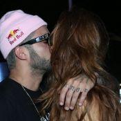 Cintia Dicker e Pedro Scooby se beijam no RIR: 'Estamos ficando, curtindo'