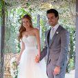Marina Ruy Barbosa se casou com Xande Negrão no dia 7 de outubro de 2017 em uma festa realizada para 800 pessoas em Campinas, São Paulo