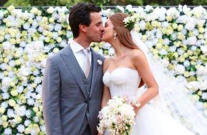 Marina Ruy Barbosa abre álbum de casamento com Xande Negrão para celebrar 2 anos