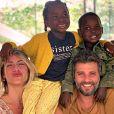 Filho de Giovanna Ewbank e Bruno Gagliasso, Bless chegou na família em julho de 2019
