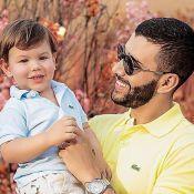 Andressa Suita compara filho Gabriel a Gusttavo Lima: 'Também é a cara do papai'