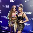 Anitta foi atração da festa Conexão Globosat, no Golden Hall WTC, em São Paulo
