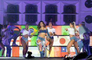Anitta lembra show icônico do RiR e agita fãs com vídeo rebolando: 'Sem igual!'