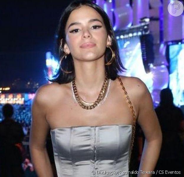 Bruna Marquezine foi chamada de grossa por um fã e explicou sua atitude em seu Twitter neste sábado, 12 de outubro de 2019