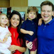 Sandy e Junior deixam filhos de Thais Fersoza e Michel Teló fascinados em show