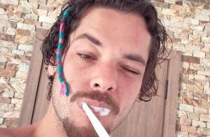 Filhos de Gio Ewbank, Títi e Bless fazem dread no cabelo de Gian Luca: 'Ser tio'