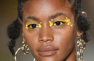 A beleza do SPFW é a inspiração que faltava para se jogar na maquiagem colorida!