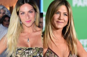 Gio Ewbank se confunde com foto de Jennifer Aniston criança: 'Achei que era eu'