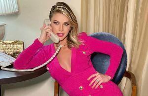 Andressa Suita aposta em vestido rosa para 'Buteco do Gusttavo Lima'. Veja look!