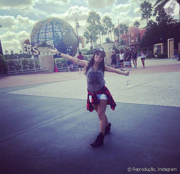 Anitta é fã do parque Universal: 'Me sinto como se o mundo fosse acabar amanhã e eu tivesse que fazer tudo que mais amo naquele dia'