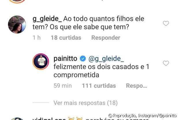 Pai de Anitta, Mauro Machado conta a fã que cantora não está mais solteira