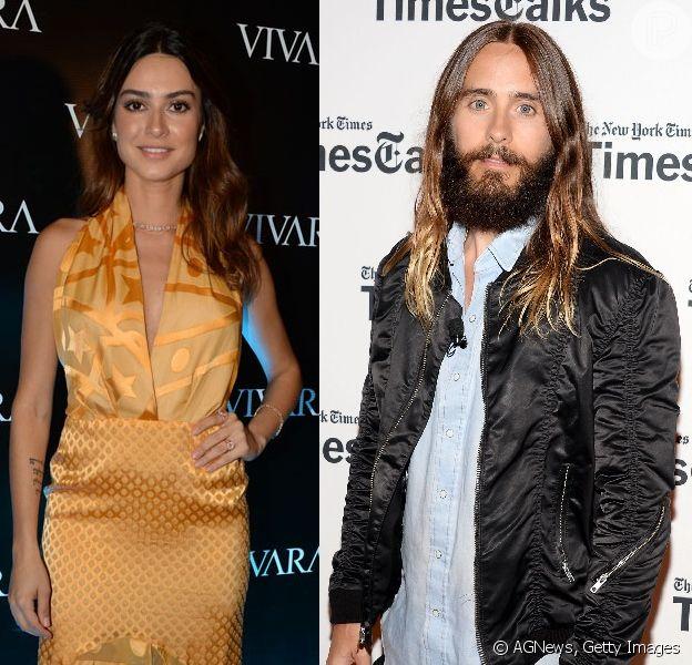 Thaila Ayala foi vista em restaurante com Jared Leto, vocalista do 30 Seconds to Mars, diz jornal