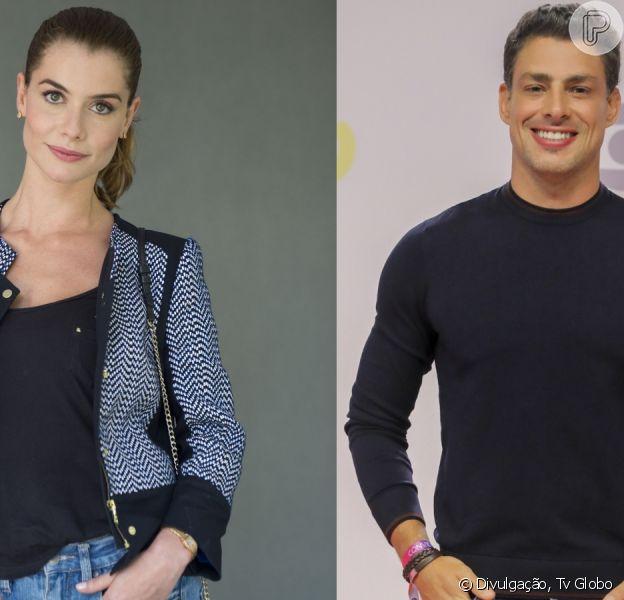 Cauã Reymond e Alinne Moraes usarão história para construir par romântico em novela