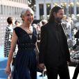Keanu Reeves foi com Alexandra Grant a um tapete vermelho de evento em Los Angeles