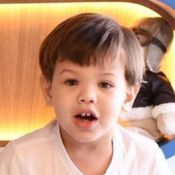 Andressa Suita incentiva filho Samuel a tocar piano: 'Para a mamãe ver!'. Vídeo!