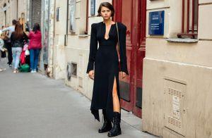 É trend! Vestido com coturno em 12 looks poderosos para inspirar e copiar