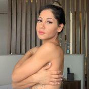 Mayra Cardi exibe o resultado de dieta em foto do corpo: 'Barriga dos sonhos'
