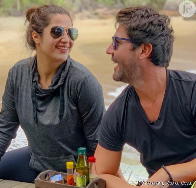 Sandro Pedroso revelou crise no casamento com Jéssica Costa nesta quarta-feira, 20 de novembro de 2019