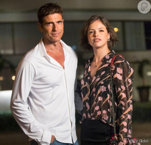 Régis (Reynaldo Gianecchini) pode ser morto por Josiane (Agatha Moreira) na novela 'A Dona do Pedaço'