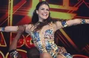 Paloma Bernardi quer fazer aula de dança após quadro no 'Domingão do Faustão'