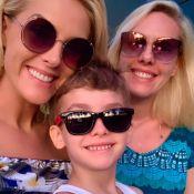Ana Hickmann curte férias com filho e valoriza momentos em família: 'Tão feliz'