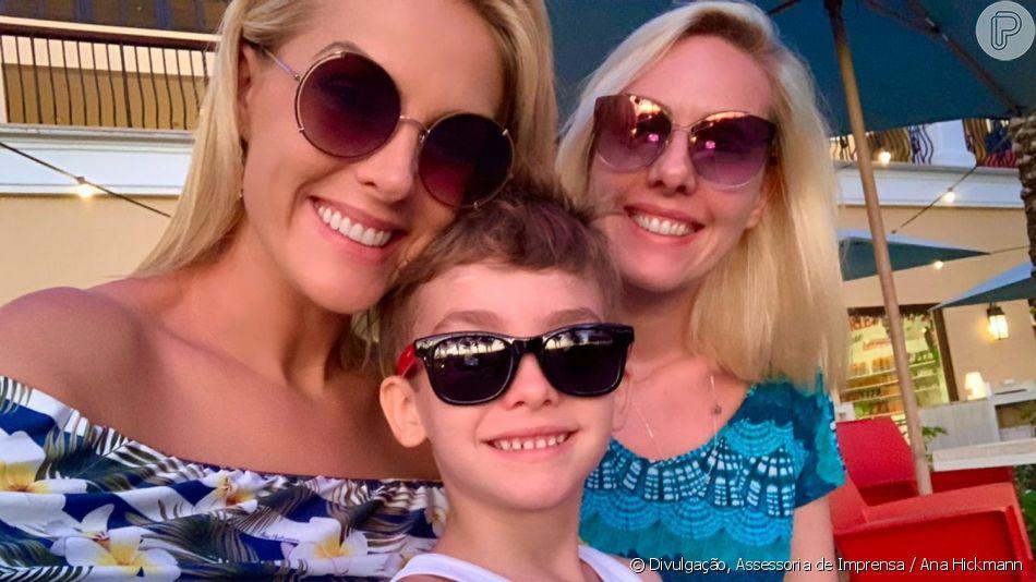 Ana Hickmann viajou com a família para o Caribe no sábado, 30 de novembro de 2019