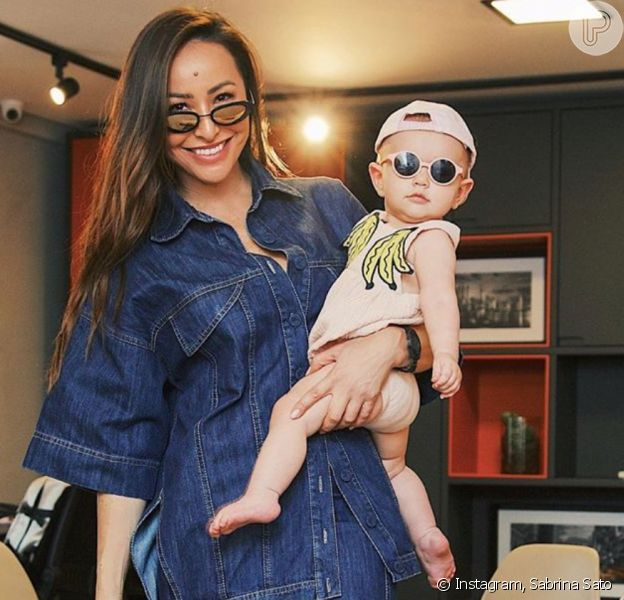 Aniversário de Zoe, filha de Sabrina Sato, terá opção de comida vegana e a dupla de palhaços Patati Patatá