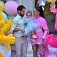 Filha de Sabrina Sato e Duda Nagle, Zoe ganhou festa avaliada em R$ 400 mil