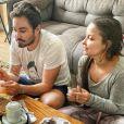 Maiara e Fernando tomam café da manhã após noite romântica, em 8 de dezembro de 2019