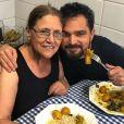 Luciano Camargo adora mostrar o cotidiano em família nas redes sociais