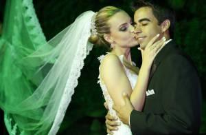 Ex-paquita Thalita Ribeiro se casa com ex-ator mirim Patrick de Oliveira no Rio