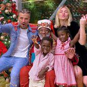 Filho de Ewbank, Bless se encanta por Papai Noel negro no Natal: 'Importa, sim'