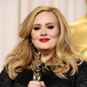 Oscar 2013: Adele leva troféu de Canção Original e canta com vestido de 15 kg