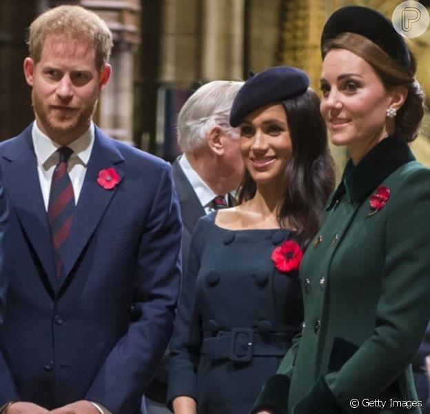 Meghan Markle e Harry se pronunciam pela 1ª vez em aniversário de Kate Middleton após decisão radical contra realeza nesta quinta-feira, dia 09 de janeiro de 2020