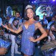 Aline Riscado substituiu Sabrina Sato como Rainha de Bateria da Vila Isabel, no Rio de Janeiro