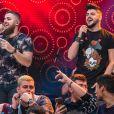 Zé Neto e Cristiano fizeram show de 45 minutos no Baile da Santinha