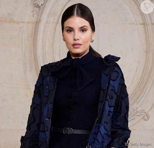Camila Queiroz e mais famosos apostam em look da moda para desfile da Dior nesta segunda-feira, dia 20 de janeiro de 2020