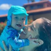 Camilla Camargo indica evolução do filho aos 6 meses: 'Acorda menos a noite'