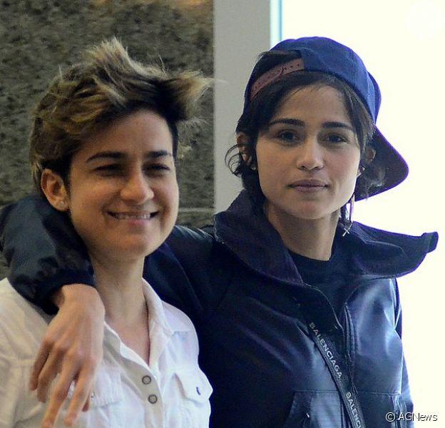 Nanda Costa, a Érica da novela 'Amor de Mãe', e a mulher, Lan Lanh, comemoram 6 anos de relacionamento nesta terça-feira, 28 de janeiro de 2020: 'E é só o começo!'