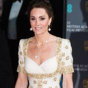 Moda sustentável: Kate Middleton repete vestido em premiação do BAFTA