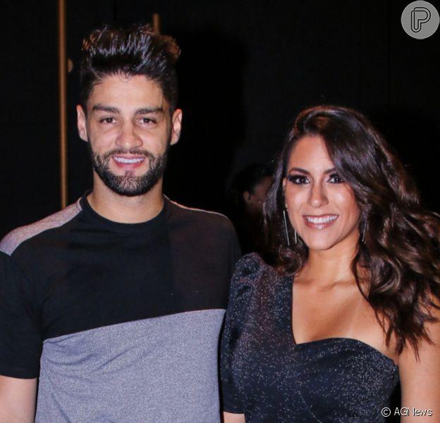 Munhoz, da dupla com Mariano, e Rhayssa Carvalho oficializaram a união em Campo Grande (MS) nesta terça-feira, 4 de janeiro de 2020