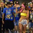 Anitta postou foto de Carnaval polêmico com Neymar na Marquês de Sapucaí, Rio de Janeiro, em 2019