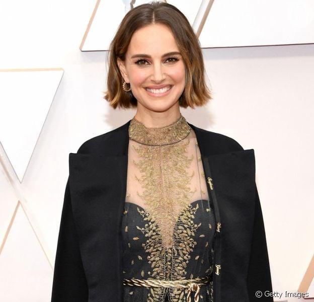 Natalie Portman usou o seu look para protestar no Oscar 2020