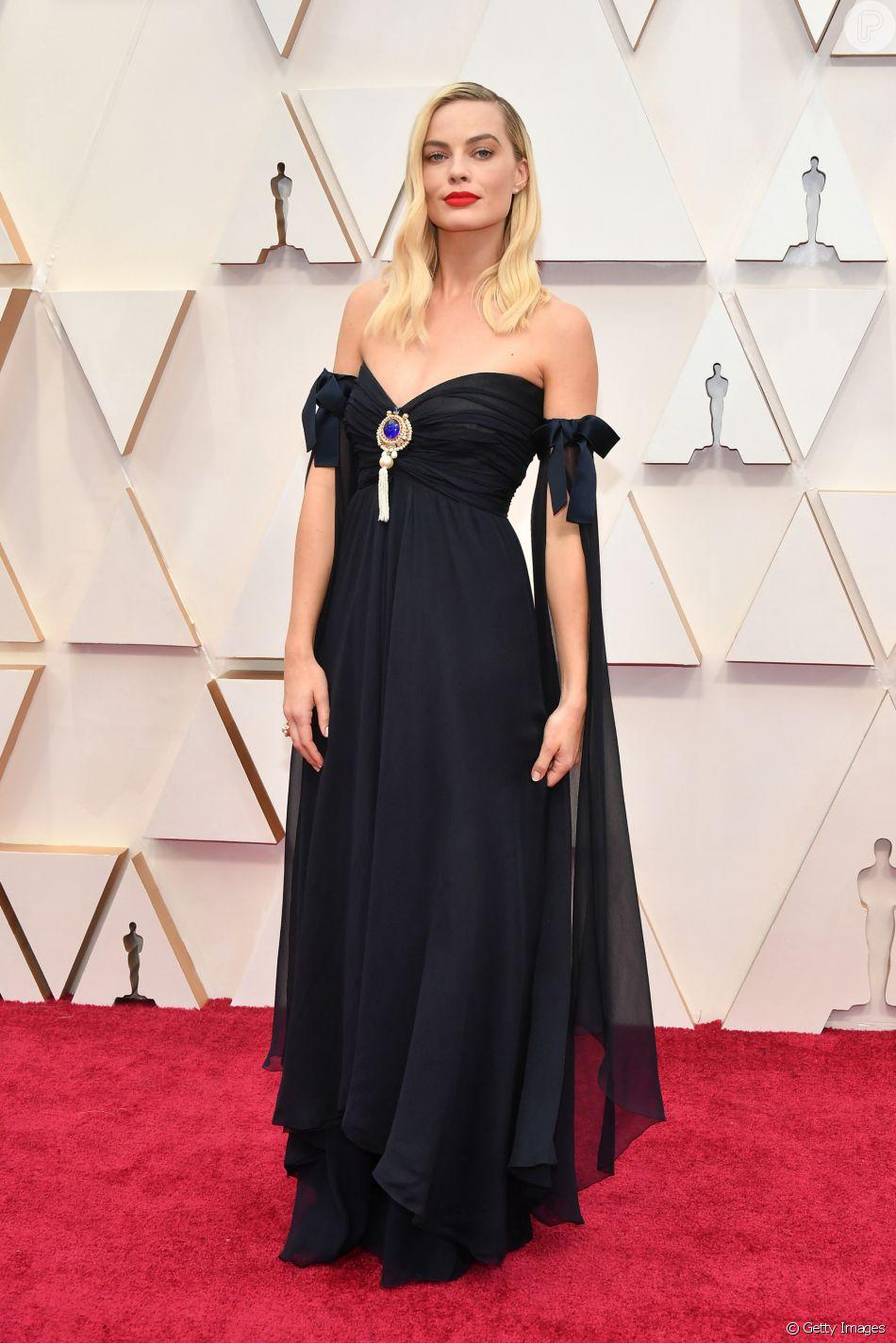 Margot Robbie de Chanel no Oscar 2020